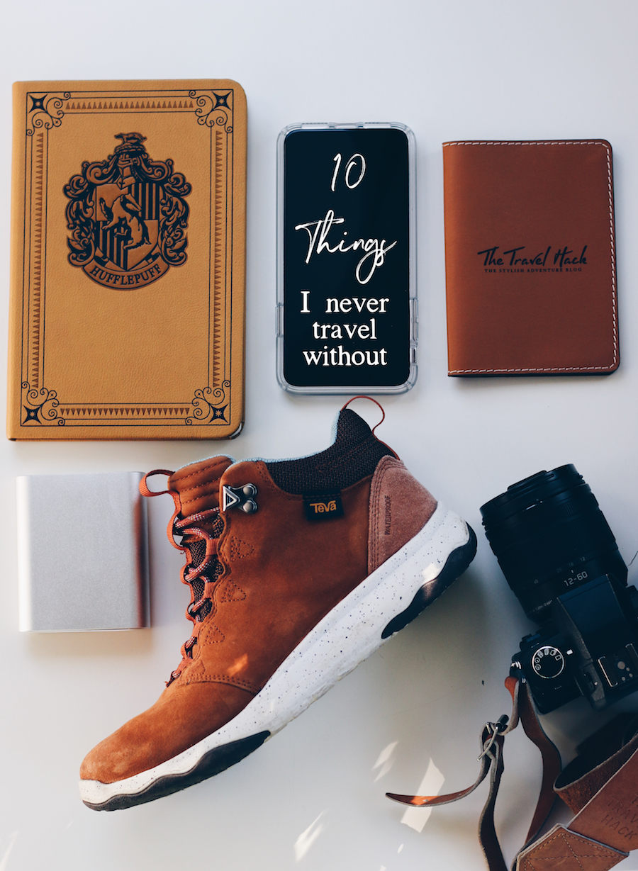 10 things I never travel without