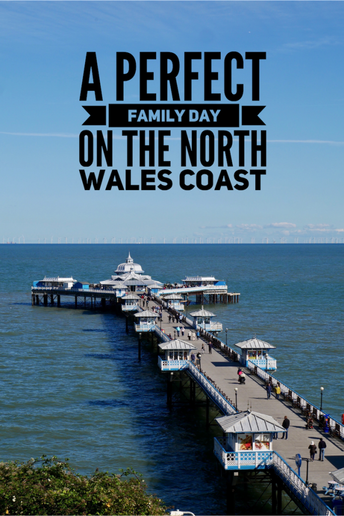 A family day on the North Wales coast