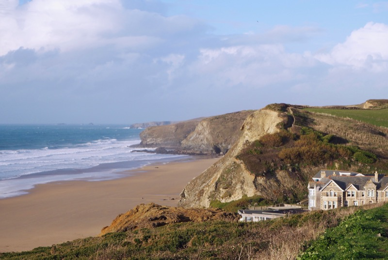 Taste of the Bay at Watergate Bay Hotel: Our favourite staycation for active relaxation - view of Watergate Bay