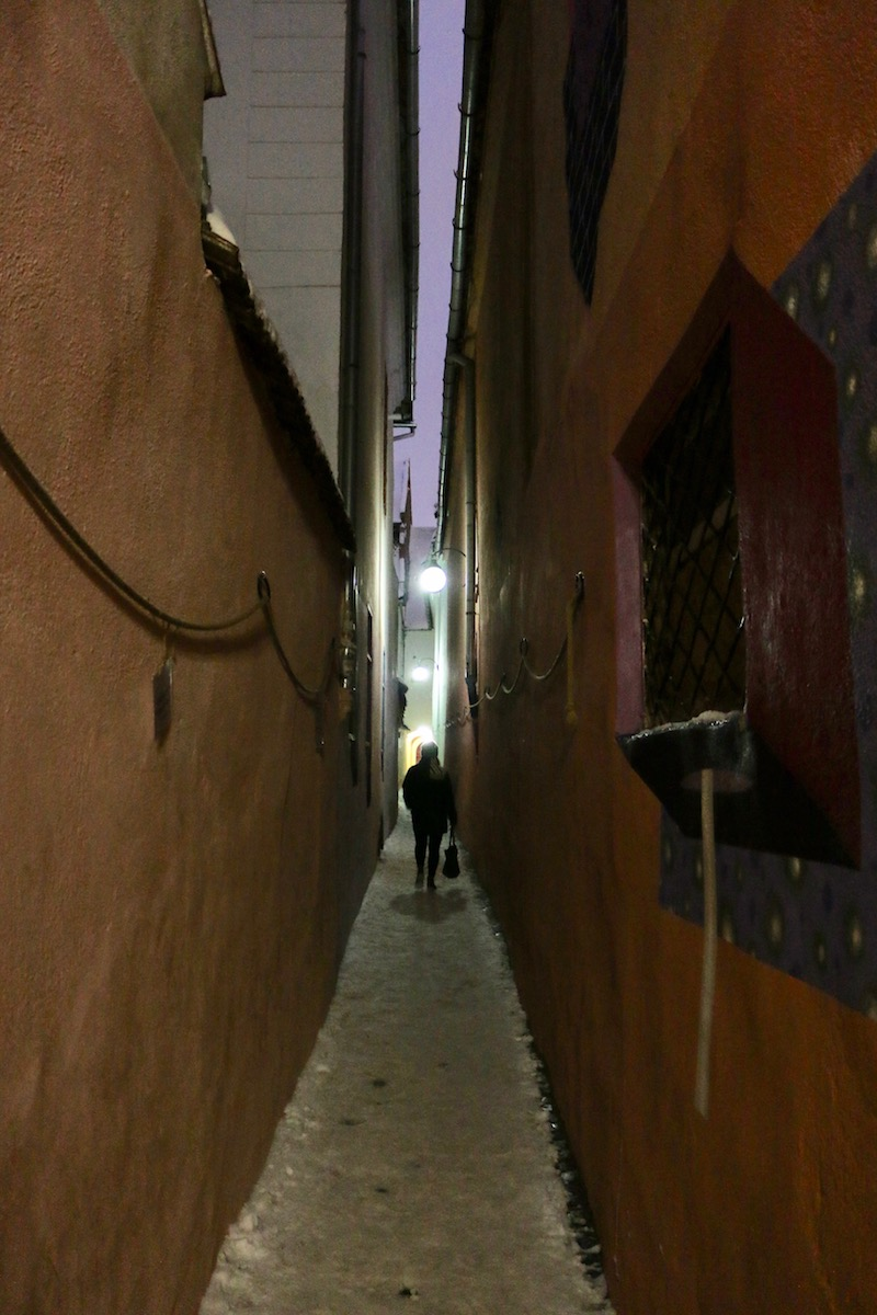 Narrowest street in Europe