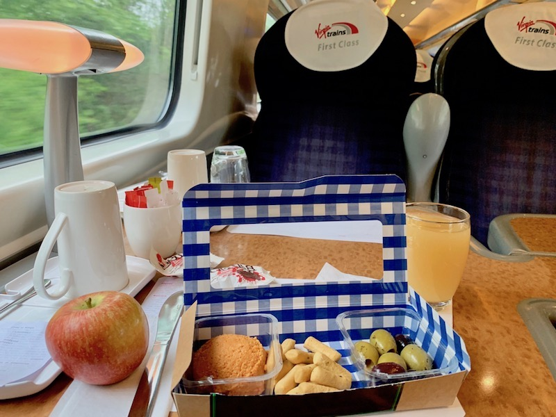 First Class Virgin Trains