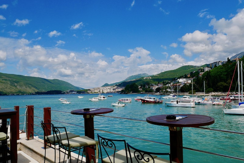 Views from Admiral Club in Herceg Novi