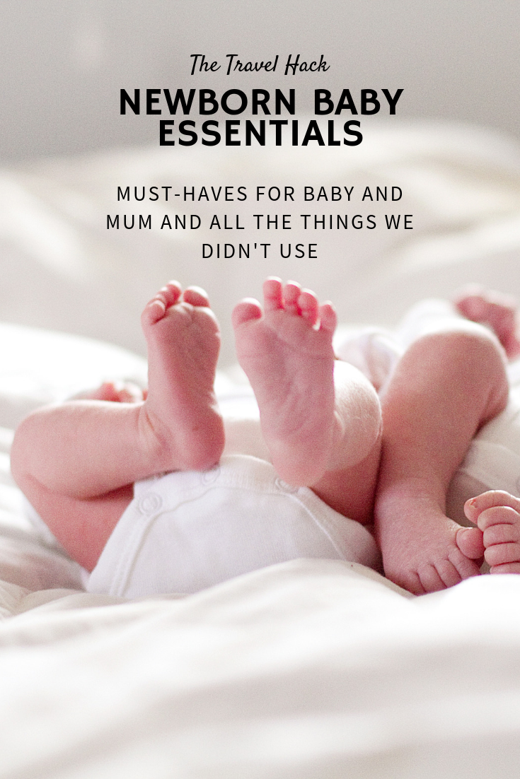 My newborn baby essentials: Newborn baby must-haves for baby