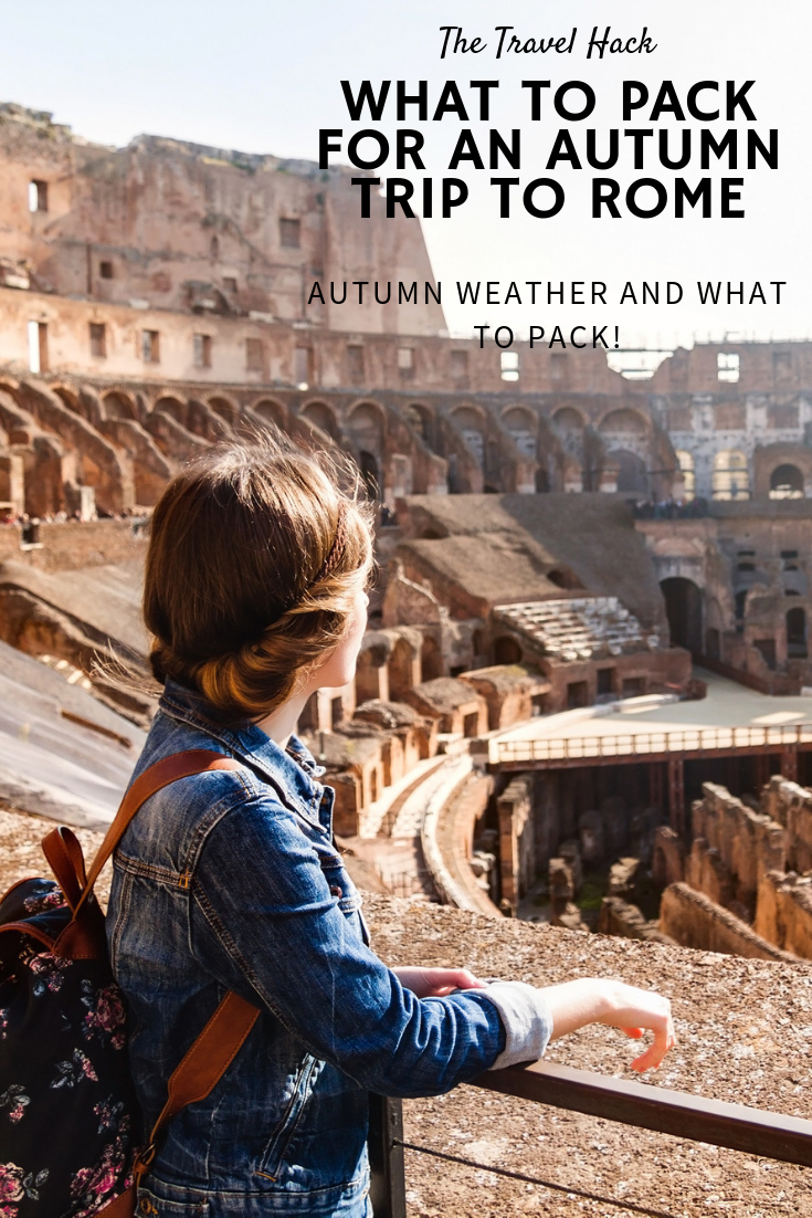 Rome in October - what is the weather like and what should you pack?