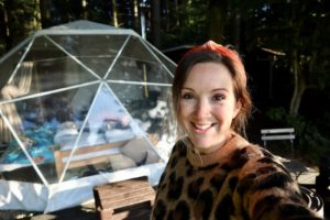 Camp Katur: Quirky glamping in Yorkshire in a geodome