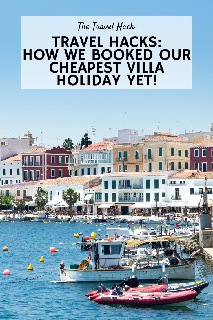 Book a cheap villa holiday