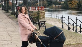 Aston Rose pushchair by Ickle Bubba
