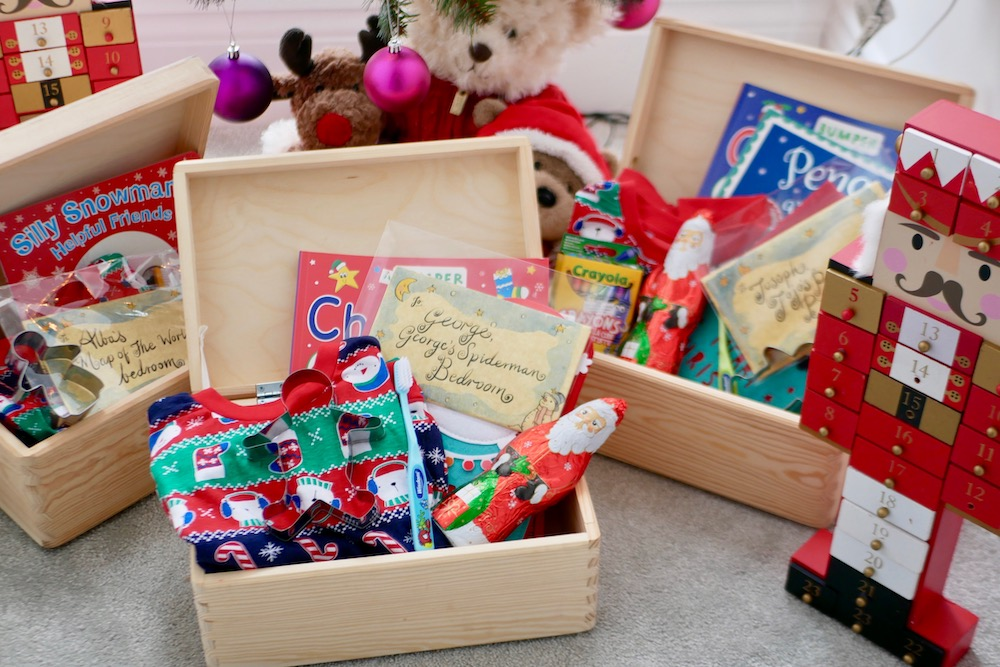 Kid's Christmas Eve boxes