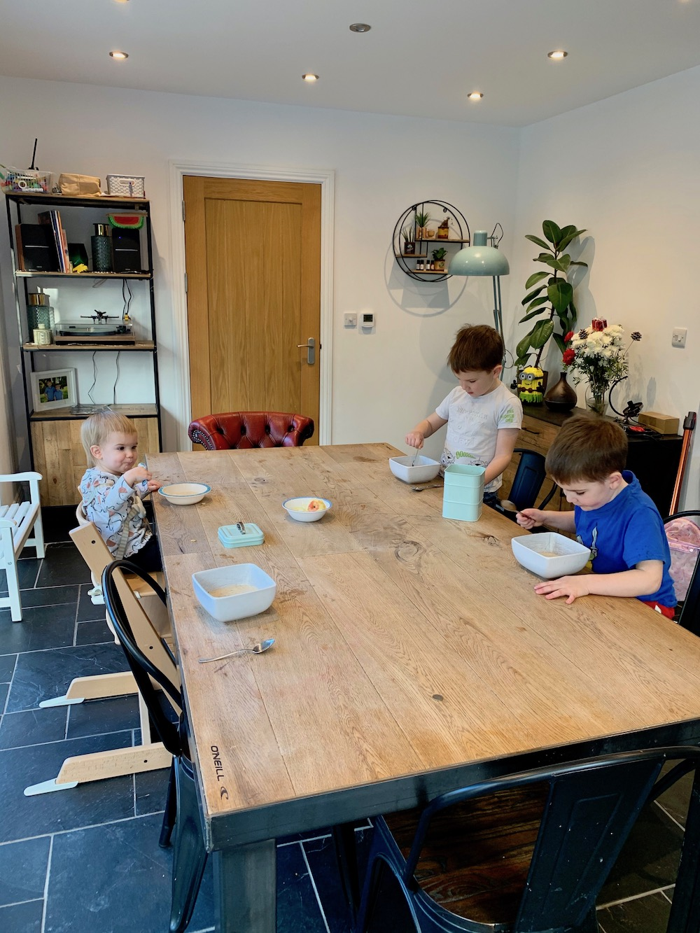 Our lockdown routine: Homeschooling and working from home with three kids