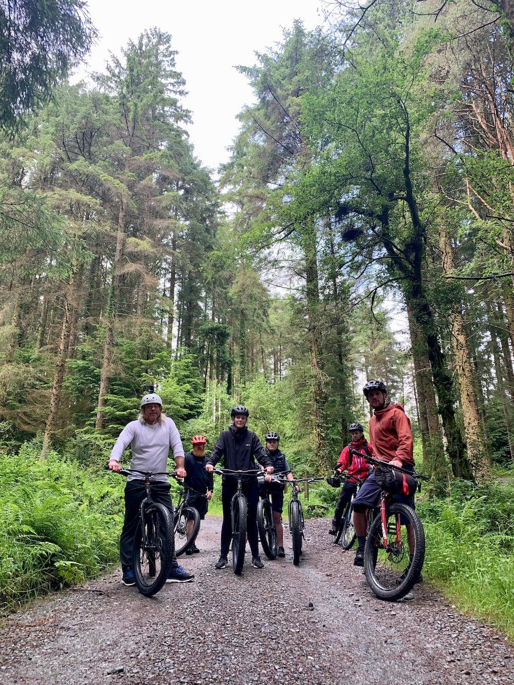 bikepacking in North Wales