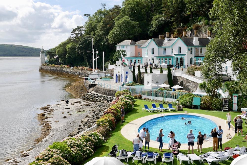 Portmeirion swimming pool
