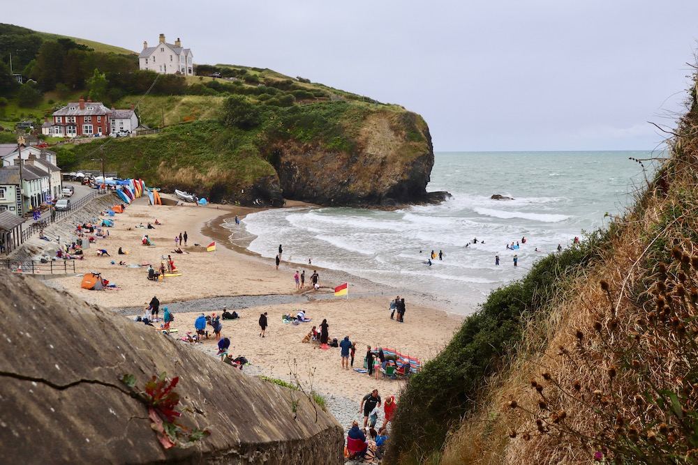 Your mini guide to Llangrannog in Ceredigion, West Wales