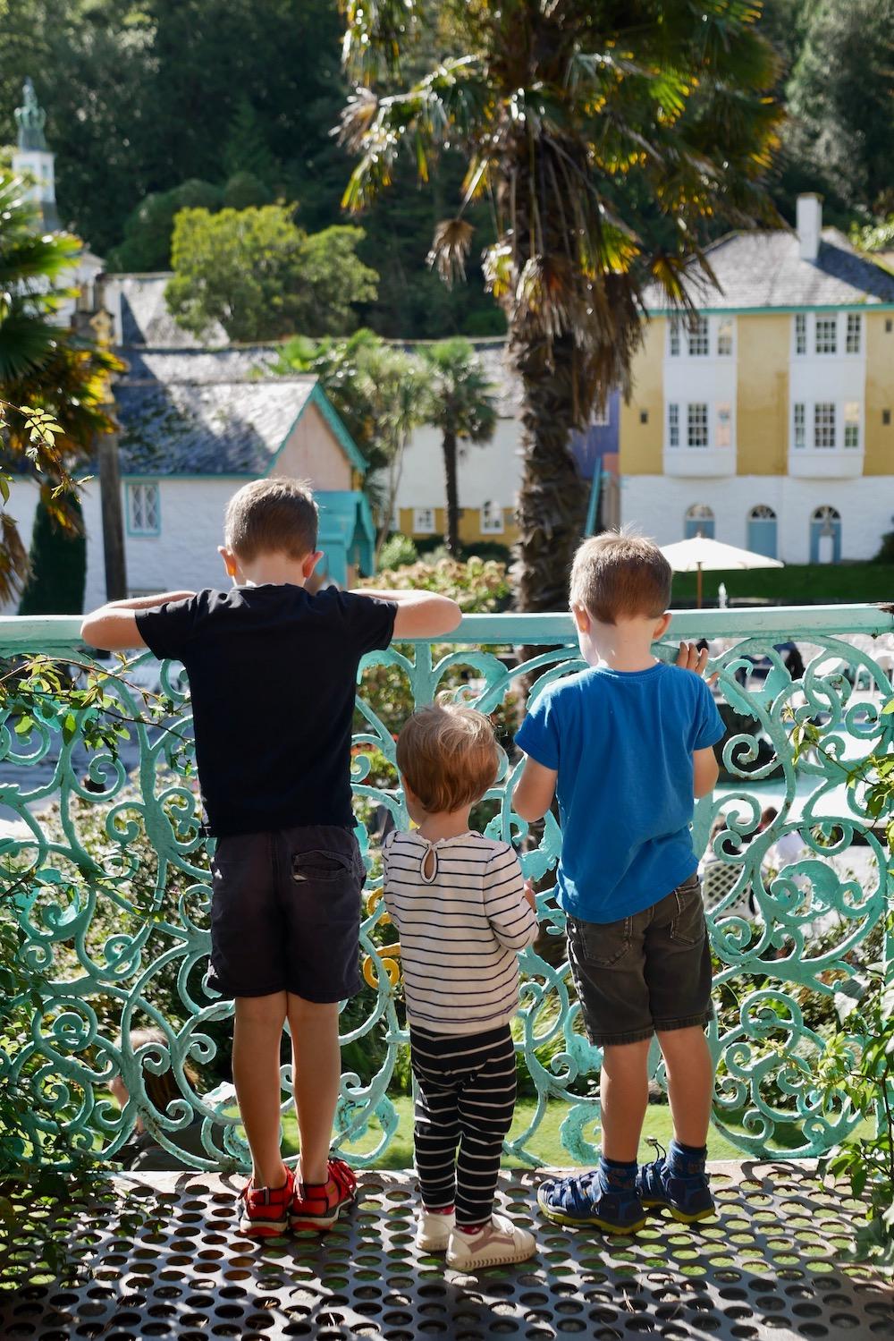 Kids in Portmeirion