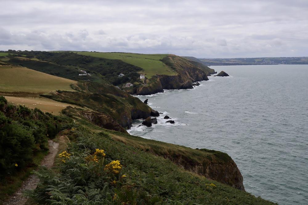 Welsh Coastal Path from Llangrannog