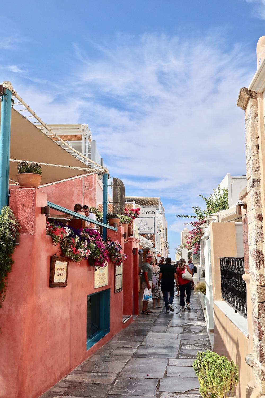 Visiting Oia Greece